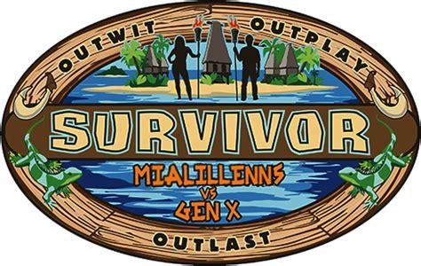 I updated this season's logo : survivor