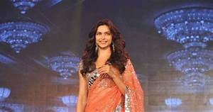 Deepika Padukone at 'Happy New Year' Movie Trailer Launch ...
