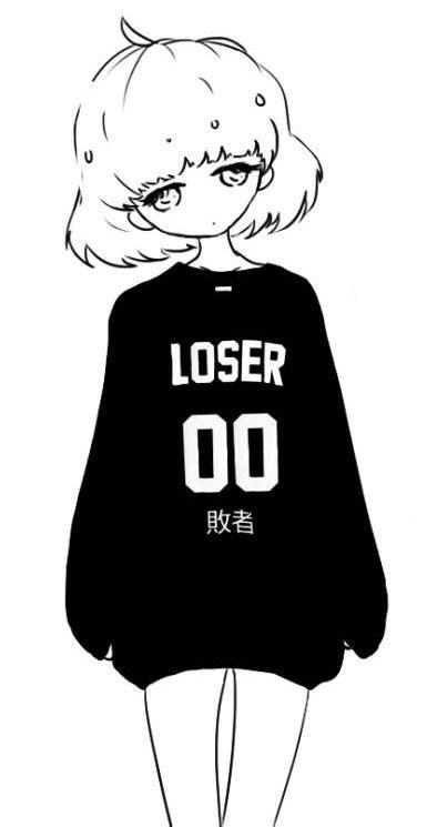 Anime Black And White Pfp