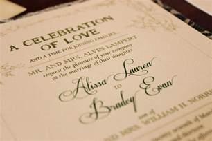 make your own wedding program wedding invitation wording one parent deceased