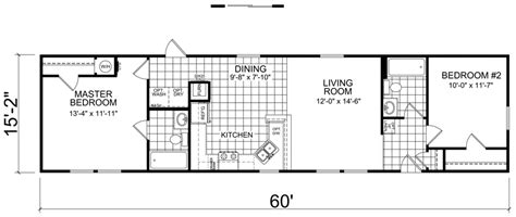 Awesome 16 Wide Mobile Home Floor Plans