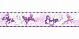 Tapeten Bordüre Weiß : tapeten bord re kinder schmetterlinge wei pink as 9012 24 ~ Orissabook.com Haus und Dekorationen