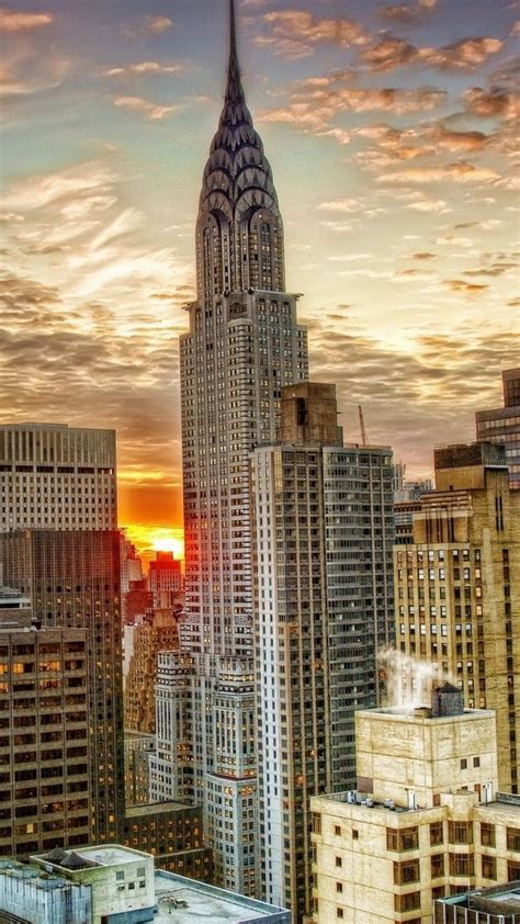 Chrysler Building Ny by Nyc Wallpaper Iphone Gallery