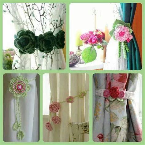 broches para cortinas sujeta cortinas sujeta cortinas pinterest croch 233