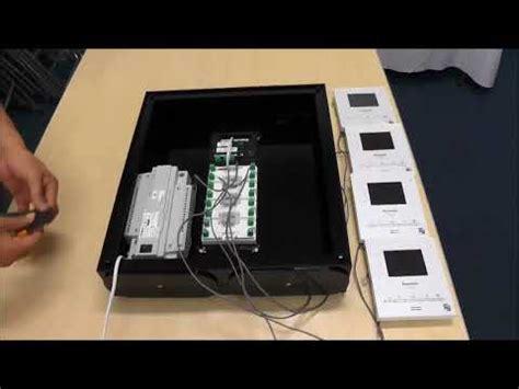 How Install Star Wiring Panasonic Video Intercom