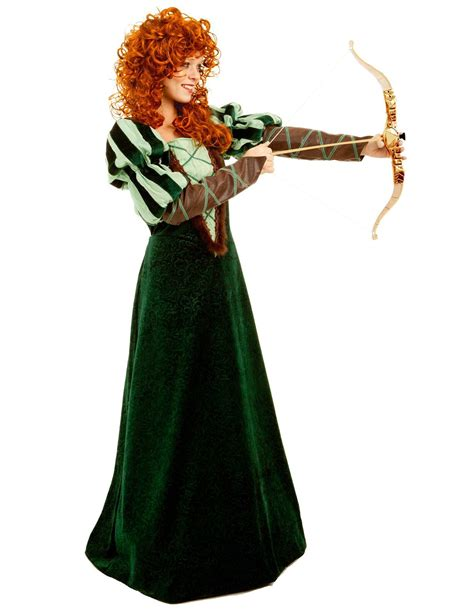 Adult Woman Forest Princess Brave Costume   $47.99   The ...