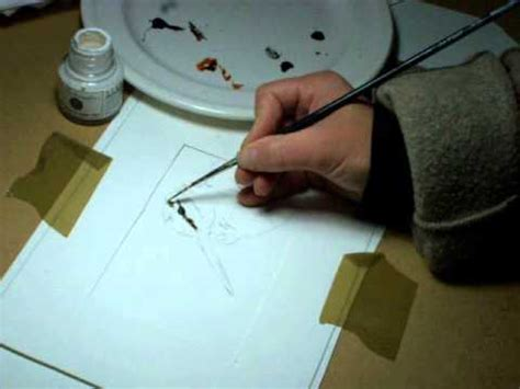 comment cuisiner une becasse peindre avec une plume du peintre