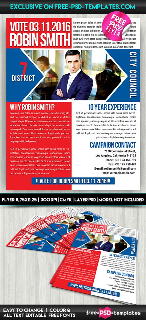 free psd flyer templates political promotion free psd flyer template free psd templates