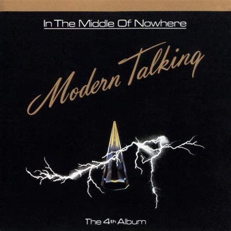 modern talking album in the middle of nowhere the 4th album 1986 anders with the band of modern talking