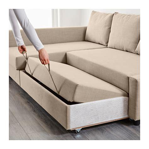 canapé friheten friheten corner sofa bed with storage skiftebo beige ikea