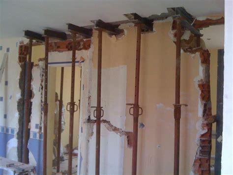 cuisine 3m de ouverture mur porteur ou mur de refend par chevalement 2