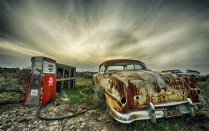 Hdr Wreck Vehicle Abandoned Wallpapers Transportation Mode