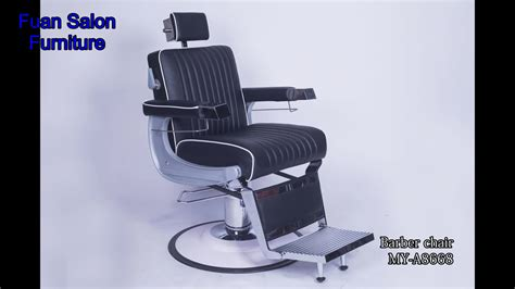 professional modern custom reclining threading used barber