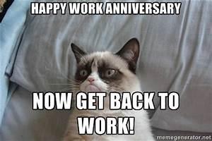 Work Anniversar... Work Anniversary Funny Quotes