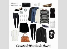 Must Have Wardrobe Essential Pieces Charlene Chronicles
