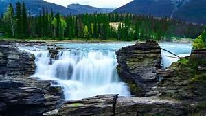 Download, Wallpaper, 1280x720, Waterfall, Rocks, Stones