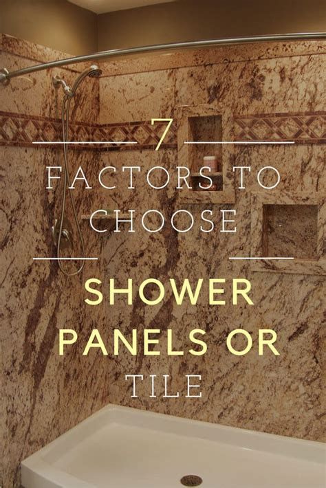 Cheap Tiles For Bathroom Walls by Are Shower Wall Panels Cheaper Than Tile 7 Factors You