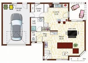 maison a ossature bois detail du plan de maison a With meuble pour entree de maison 9 maison contemporaine 12 detail du plan de maison