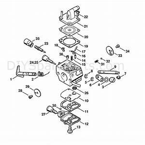 Stihl Fs 200 Brushcutter  Fs200  Parts Diagram  Carburetor