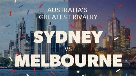 Is It Better To Live In Sydney Or Melbourne? [Infographic ...
