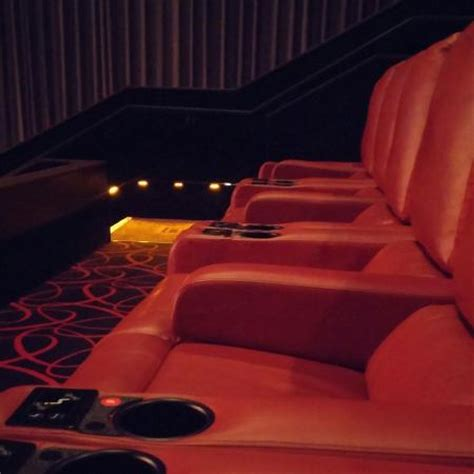 amc reclining seats new reclining seats palisades center amc picture of
