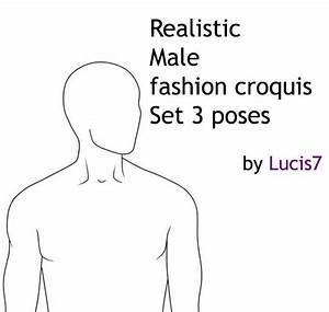 Male Fashion Croquis 01 by Lucis7 on DeviantArt