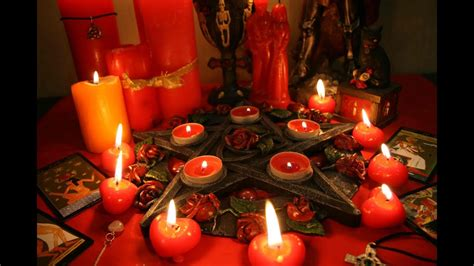 Red Candle Love Spells Simple, But Work Love Spell With