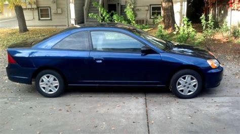 Honda Stick Shift by Sell Used 2003 Honda Civic Lx 2 Door Coupe Stick Shift