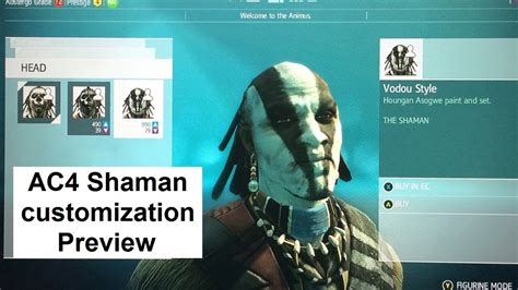ac4 rating ac4 shaman customization preview assassin s creed 4 multiplayer guild of rogues dlc characters