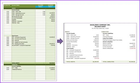 service business accounting templates exceltemplatenet