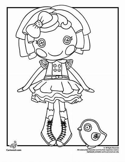 Coloring Lalaloopsy Pages Doll Dot Starlight Dolls