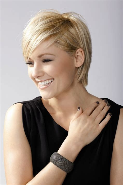 short straight fine hair short hairstyles 2016 2017