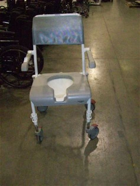 used invacare portable toilet chair for sale