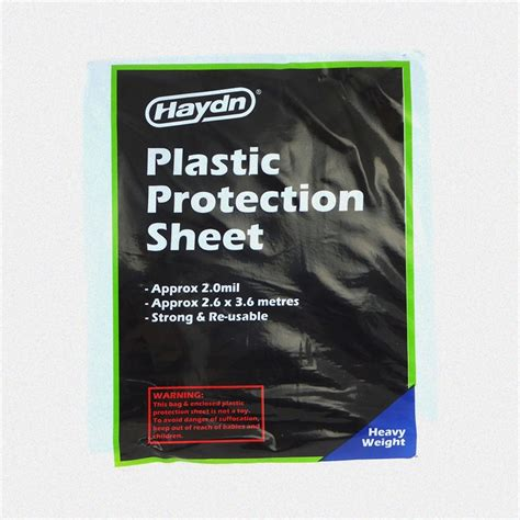haydn plastic protection sheet bunnings warehouse