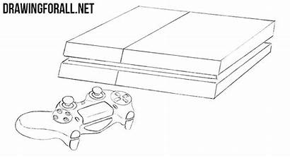 Playstation Draw Sony Step Box Drawingforall Consoles