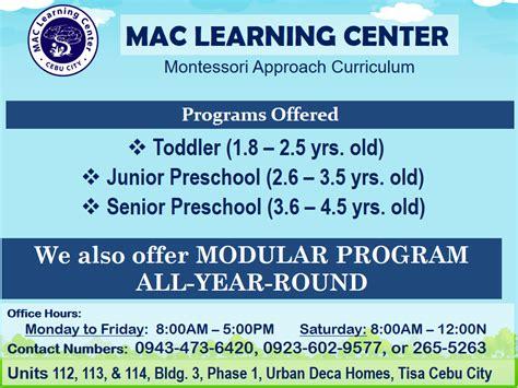 MAC Learning Center Cebu Private School Cebu City 2