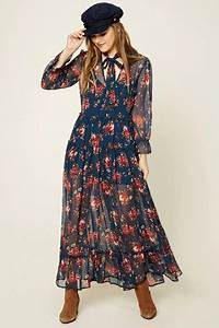 robe longue fleurie 2017 With robe fleurie 2017
