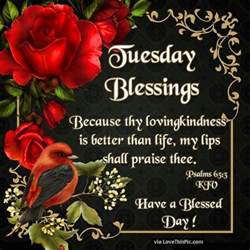 tuesday blessings a blessed day religious quote pictures photos and images for