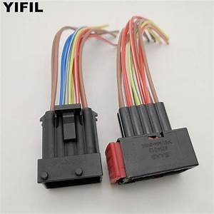 10 Pin  Way Amp Car Headlamp Light Assembly Harness Connector Plug With Wire Pigtail For Buick