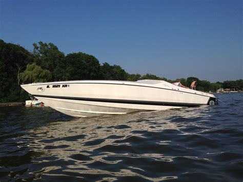 Older Cigarette Boats For Sale by Cigarette Cafe Racer Boat For Sale From Usa