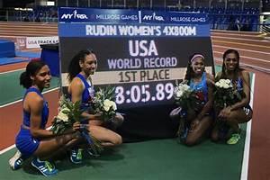 USA breaks 4x800m world indoor record, Korir runs 1:44.21 ...