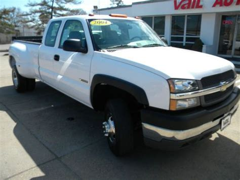 Purchase Used 2004 Chevrolet Silverado 3500 Wt Extended