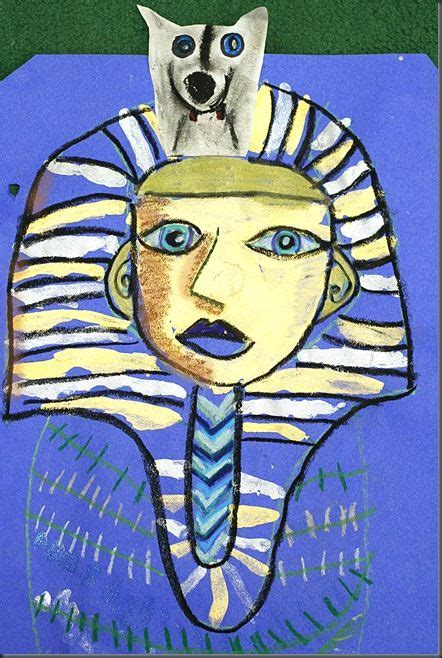 king tut project elementary art lesson plans art