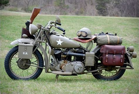 Vintage Restored Wwii Indian Motorcycle Can We Talk For A