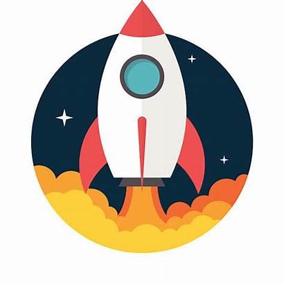 Rocket Vector Clip Launch Illustrations Similar Vectors