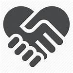Helping Icon Hand Compassion Hands Heart Icons