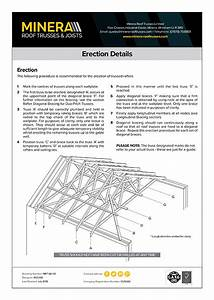 Roof Truss Installation Guides  U0026 Diagrams