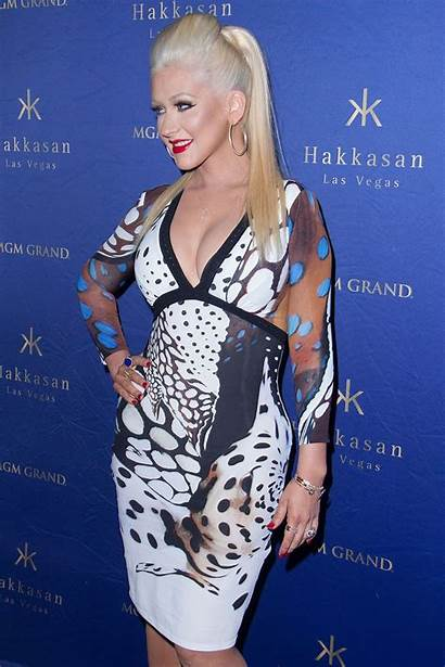 Christina Aguilera Hakkasan Party Nightclub Vegas Las