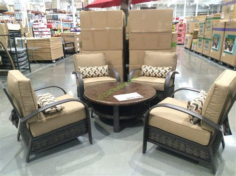 woodridge 5 patio seating set costcochaser