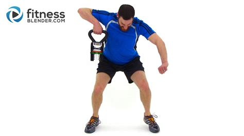 kettlebell workout body total fitnessblender intensity length routine fitness routines blender workouts powerblock training hiit muscle calories cardio